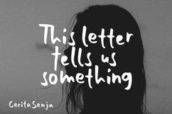 Cerita Senja - Quotes Font Product Image 2