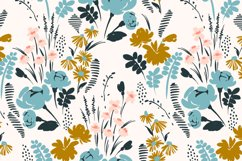 9 floral abstract seamless patterns. Product Image 2