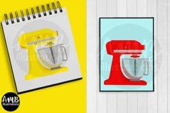 Baking clipart, cooking clipart, Mixers, graphics AMB-2800 Product Image 5