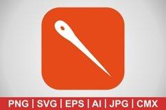 Vector Needle Icon Product Image 1