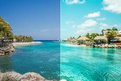 Blue Lagoon Mobile & Desktop Lightroom Presets Product Image 3