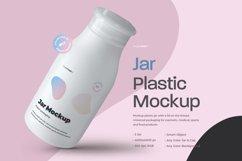 3 Mockups Plastic Jar Product Image 1