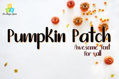 Pumpkin Patch Font Product Image 1