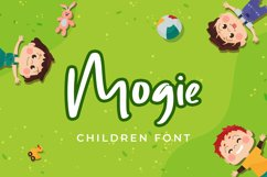 Mogie Cute and Amazing Display Font Product Image 1