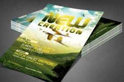 New Creation Church Flyer Template Product Image 4