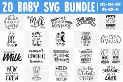Baby SVG Bundle, Baby Boy SVG, Baby Girl SVG, Newborn SVG Product Image 1