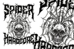 Aligator - Deathmetal Font Product Image 3