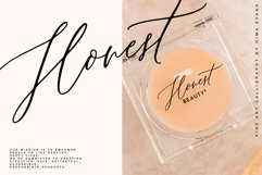Lillian Melody / Fine Art Chick Font Product Image 3