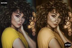 Macadamia Photoshop Actions And ACR Presets, Brown Ps action Product Image 2