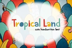 Tropical Land - Cute Display Font Product Image 1