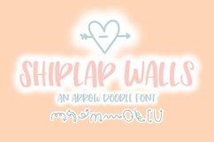 Shiplap Walls Doodle Font | Doodle Font Product Image 1