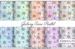 Galaxy Snow Pastel 10 Textures Harmonia NM Product Image 1
