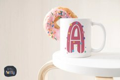 Alphabet Clipart, 78 watercolor PNG Graphics, Letters Name Product Image 2