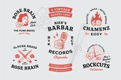 Rockabilly Badges Product Image 1