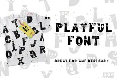 Cutie Monster - Monster Font Product Image 8