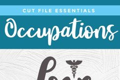 Nurse practitioner svg file for crafters - an np svg Product Image 4