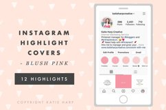 Instagram Highlight Covers - Blush Pink Solid Colors Product Image 3