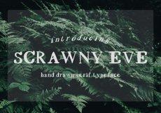 Scrawny Eve - Hand Lettered Serif Typeface Product Image 5