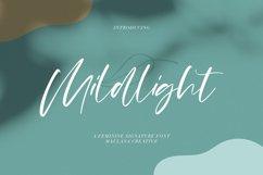 Mildlight Feminine Signature Font Product Image 1