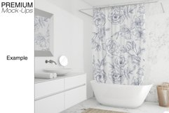 Shower Curtain Mockup Pack Product Image 4