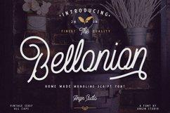 Bellonion Monoline Script Product Image 1