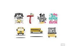 Back To School SVG Bundle in SVG, DXF, PNG, EPS, JPG Product Image 4