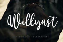 Willyast Calligraphy Handwriting Product Image 1