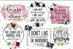 24 Sublimation Downloads - Funny, Religious, Mom Life PNG Product Image 5