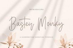 Baster Monky - Monoline Script Font Product Image 1