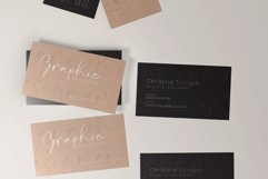 Clean Minimal Business Card Product Image 3