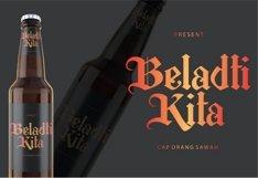 Berkahi Blackletter Font Product Image 5