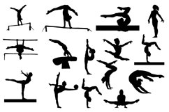Gymnast Silhouettes Vol1 Product Image 4