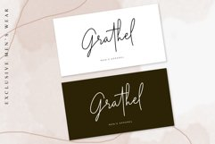 Midnight Signature   Casual Handwritten Font Product Image 5