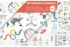 Infographic Elements Bundle (3 in 1) 4
