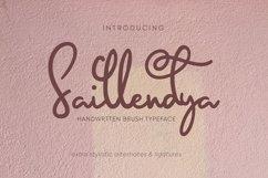 Saillendya   Handwritten Brush Typeface Product Image 1