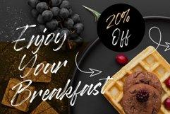 Baguette Natural Handbrushed Font Product Image 3