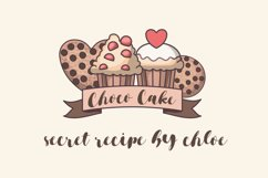 Brownies Sugar - Sweet Bouncy Font Product Image 4
