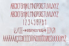Morning Rain Font with Hearts Product Image 6