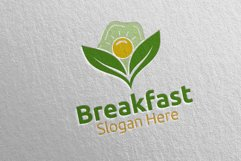 Fast Food Breakfast Delivery Logo 18 Product Image 1