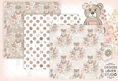 Baby Girl digital paper pack 2 Product Image 4