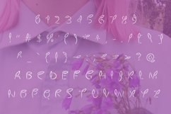 Leaves font in ttf , otf Product Image 2