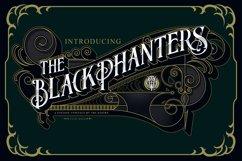 Blackphanter display font Product Image 1