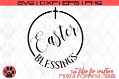 Easter Blessings | Christian SVG Cut File Product Image 2