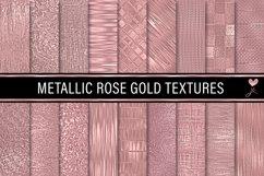 Metallic Rose Gold Textures Product Image 1