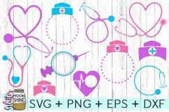 Nurse Bundle SVG DXF PNG EPS Cutting Files Product Image 2