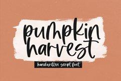 Pumpkin Harvest - Modern Handwritten Script Font Product Image 1
