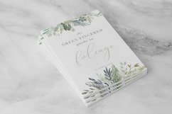 Foliage - Watercolor Leaves & Greenery Product Image 3