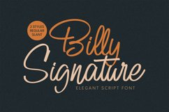 Billy Signature Product Image 1