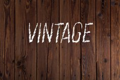 Vintage Dry Brush Font Product Image 2