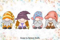 Gnome clipart set, gnome png, sublimaion, gnome sticker Product Image 3